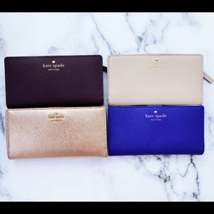 Kate spade Stacy bifold wallet